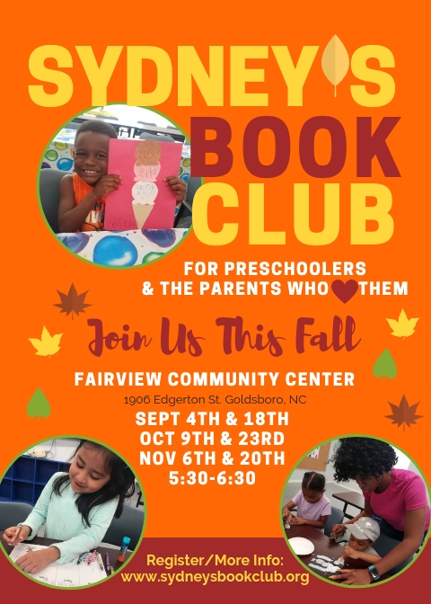 preschool, book club, november 20th