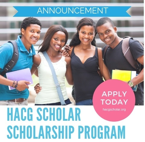 HACG scholarship announcement apply today