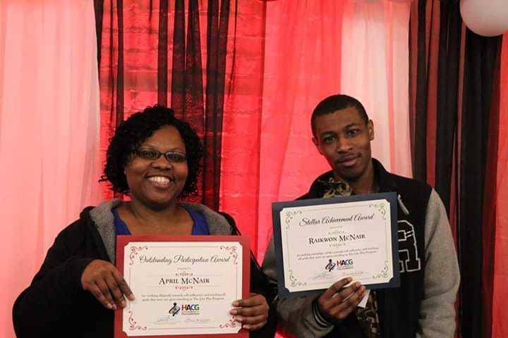 ROSS Program participants with certificates