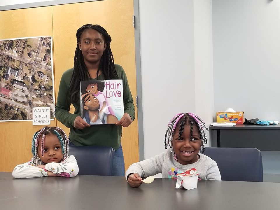 Sydney's Book Club West Haven Hair Love