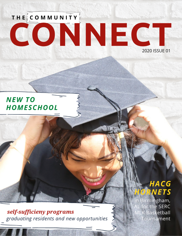 The Community Connect 2020 Newsletter Cover